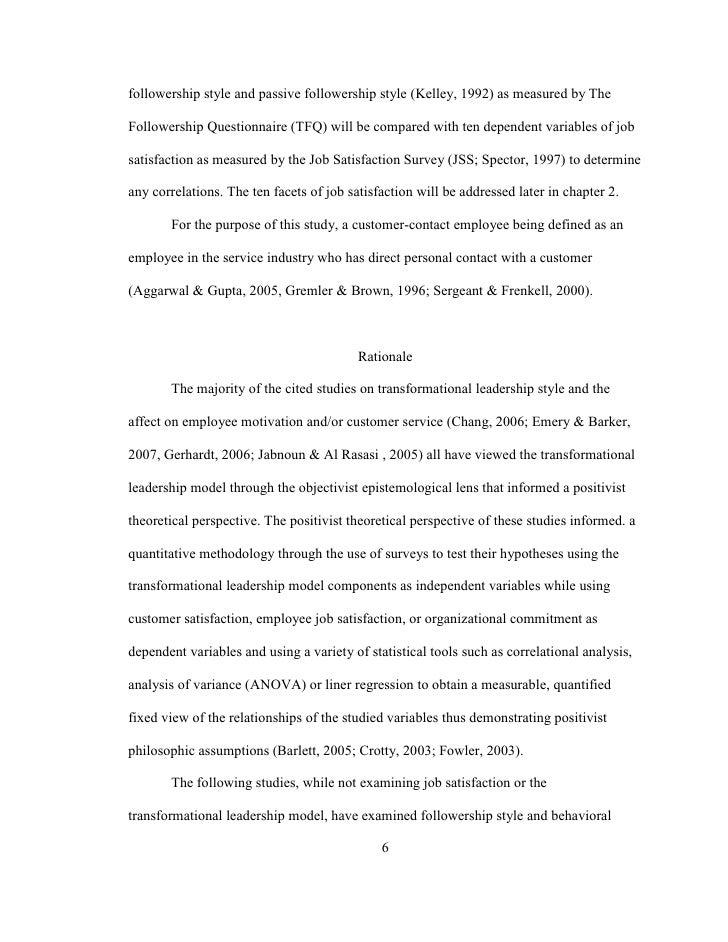 Bearden dissertation followership proquest