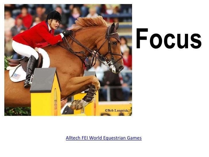 Focus<br />Alltech FEI World Equestrian Games<br />