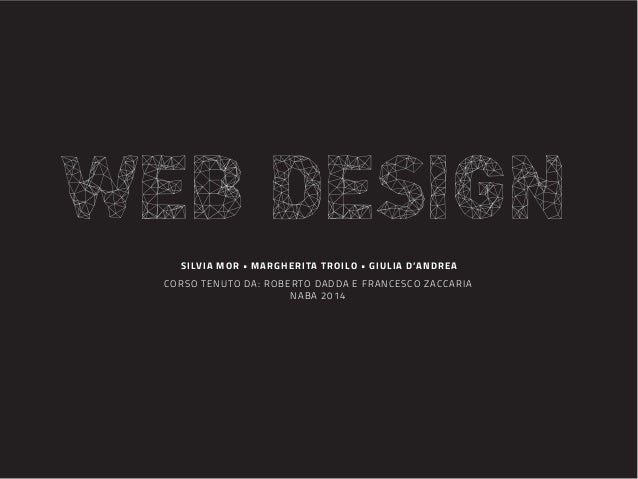 FOCUS: WEB DESIGN NABA course elaborate 2013-2014