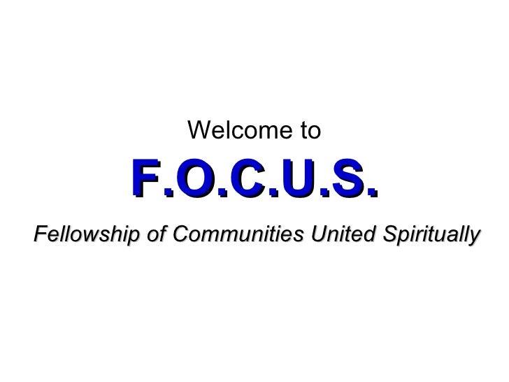 Focus Celebration (6/28/2009)