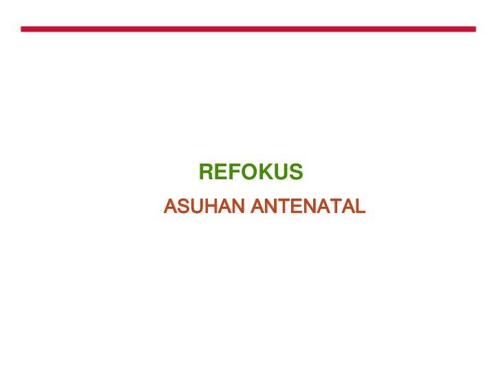 Focus antenatal care  yeni03