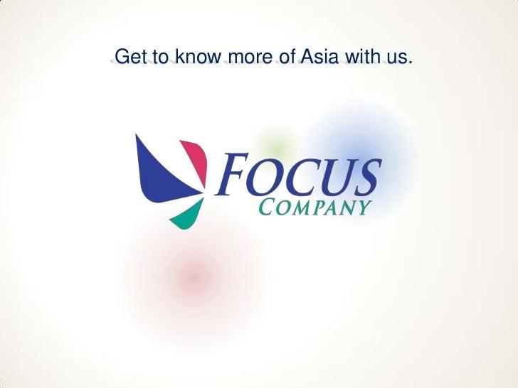 Focus Company Summary 2011