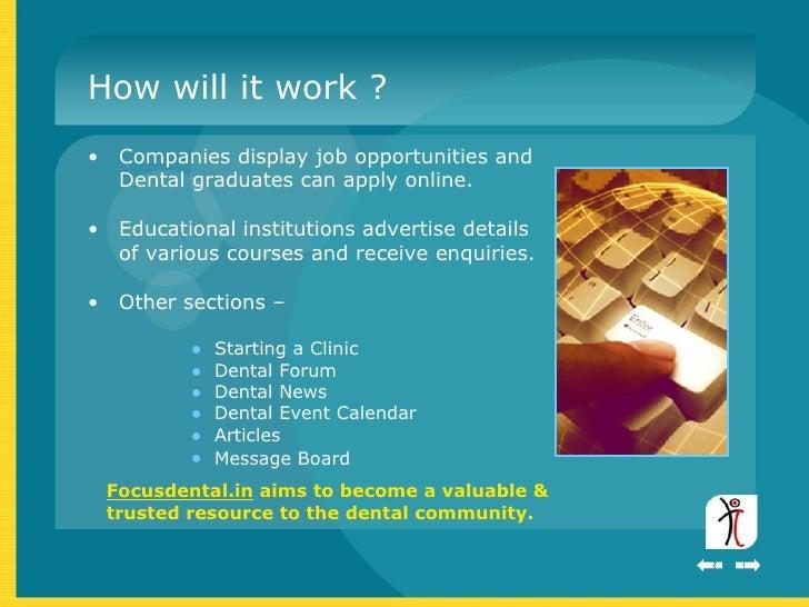 dental office startup business plan