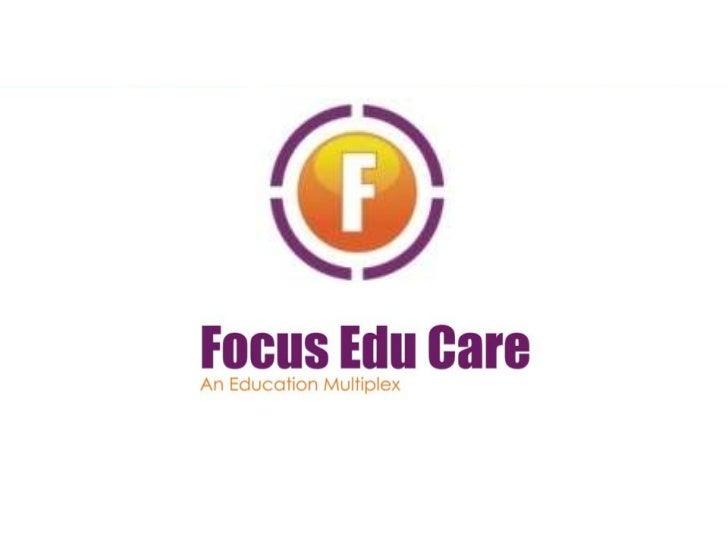 Focus educare franchisee presentation