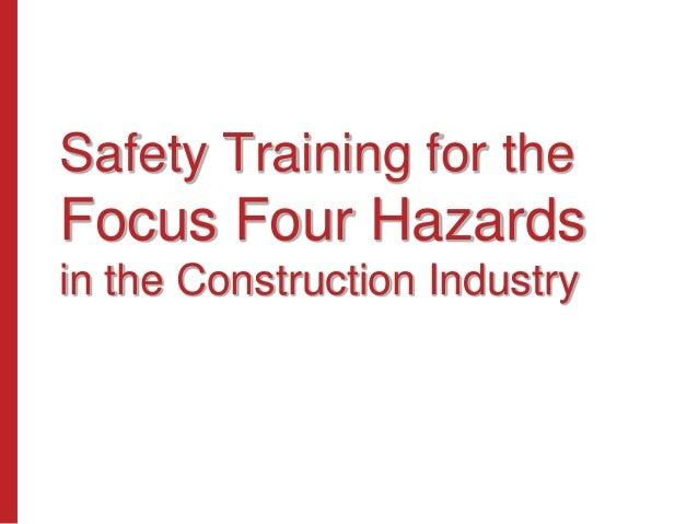 Focus four hazards_english