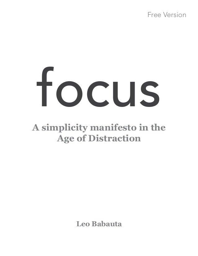 Focus free