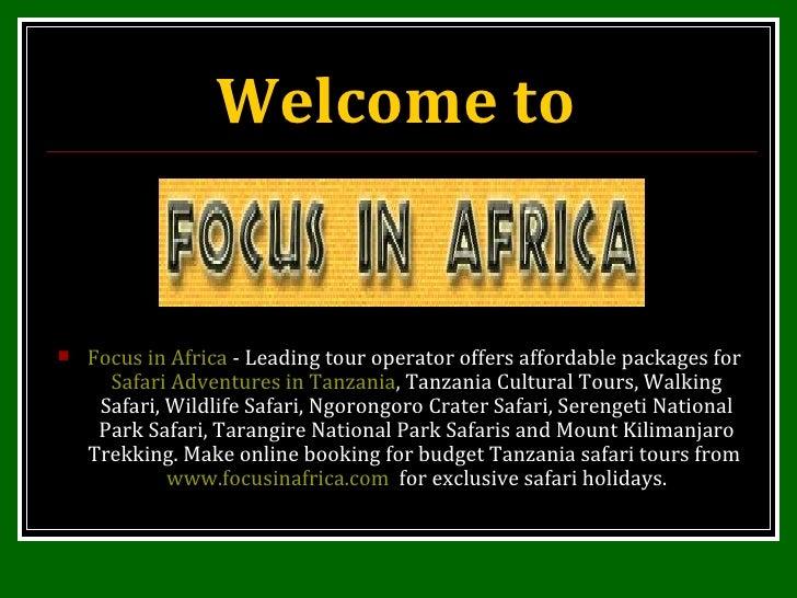 Serengeti, Tarangire National Park Safari, Mount Kilimanjaro Trekking, Tanzania Cultural Tours, Walking Safari, Wildlife Safari