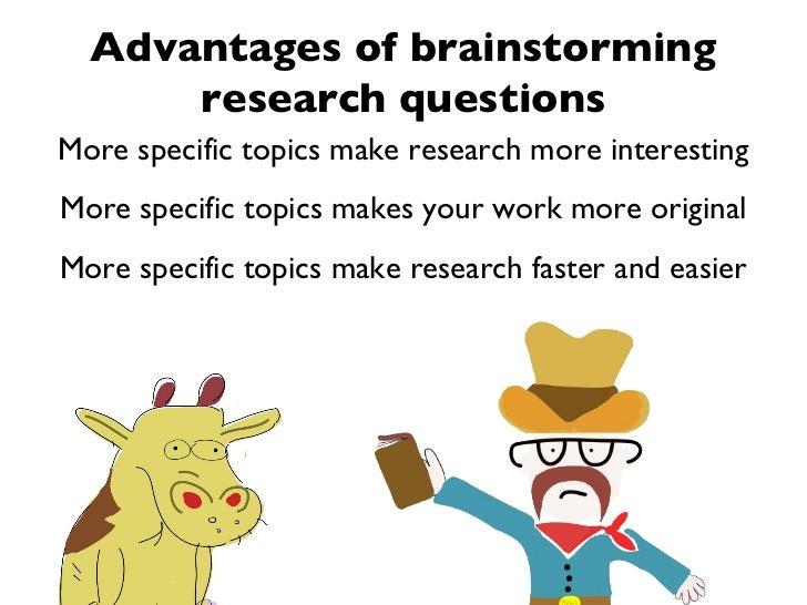 Interesting research topics