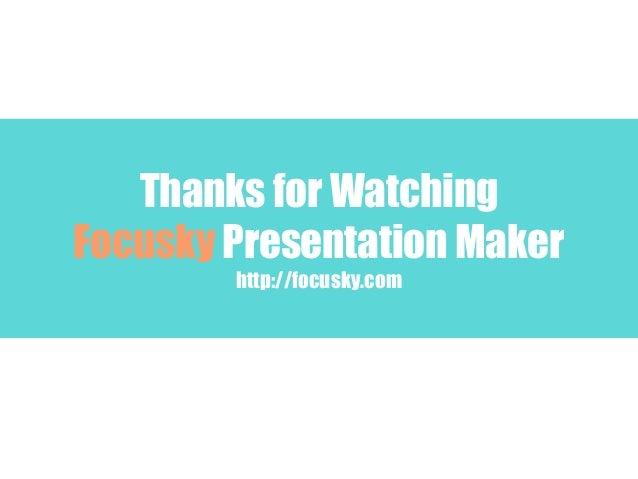 Presentation online maker