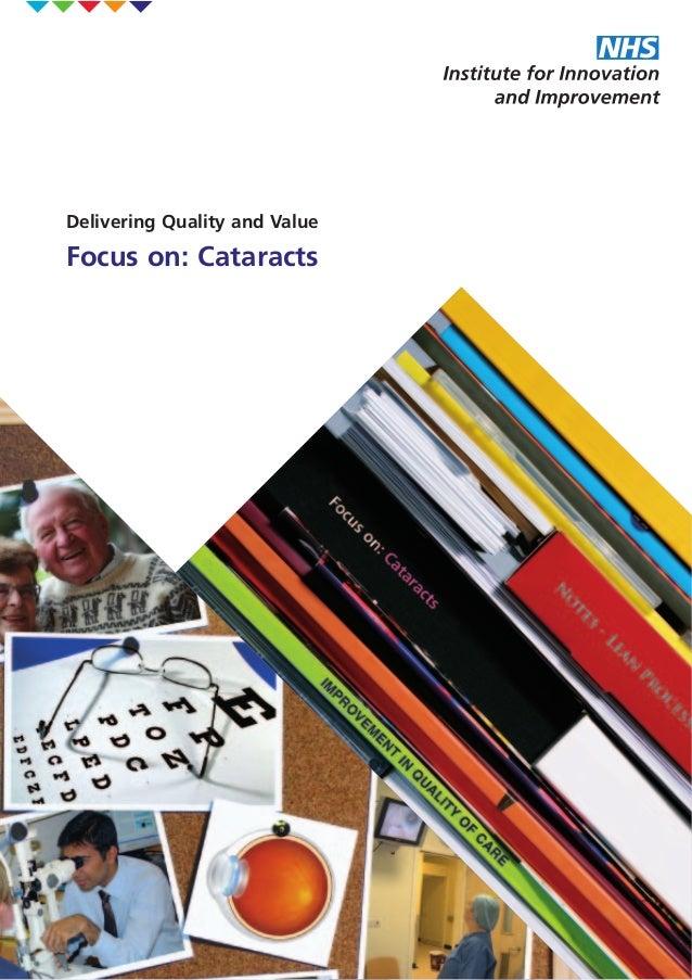 Focus on cataract