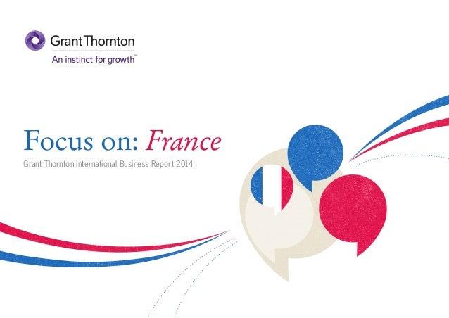 Focus on France (IBR 2014)
