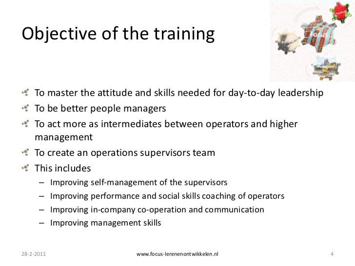 Supervisory Skills Training Objectives Can I Pray To Win