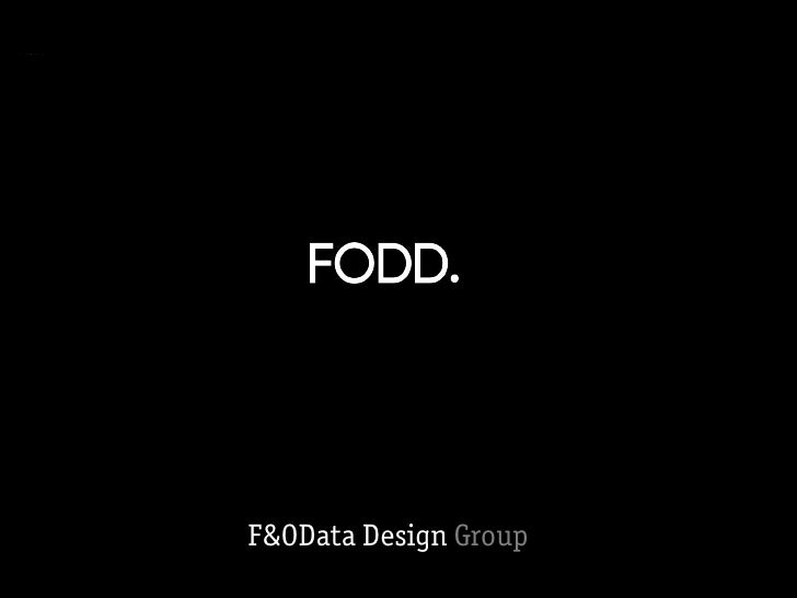 Free & Open Data Design Group