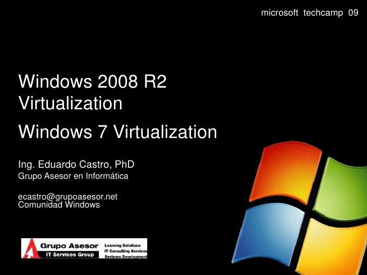 Windows 2008 R2 Virtualization
