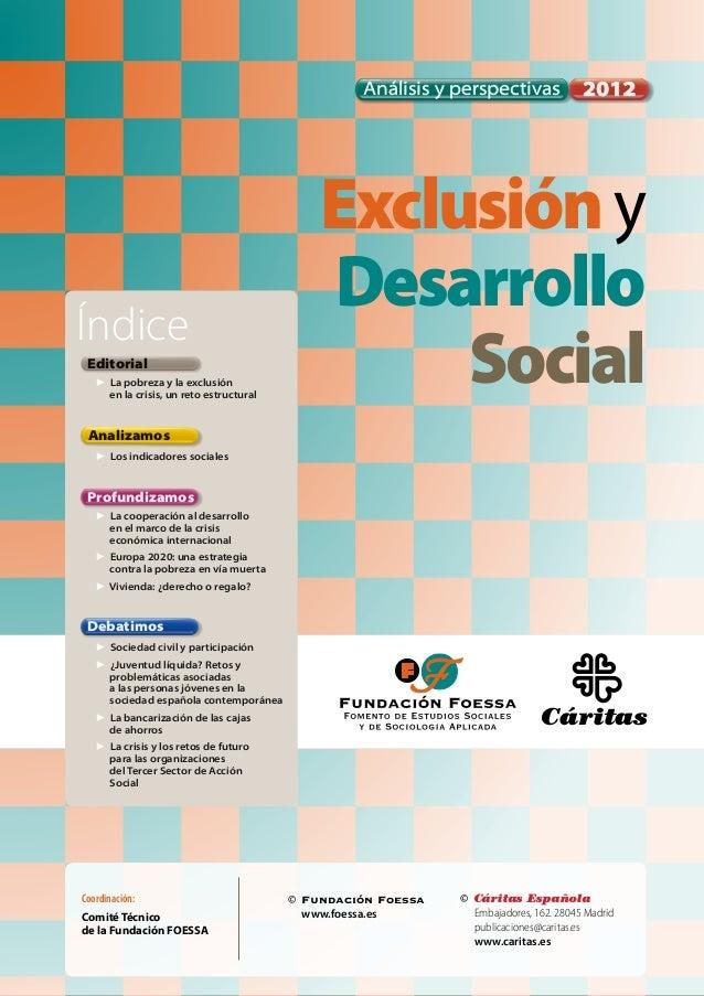 Foessa exclusion y desarrollo social