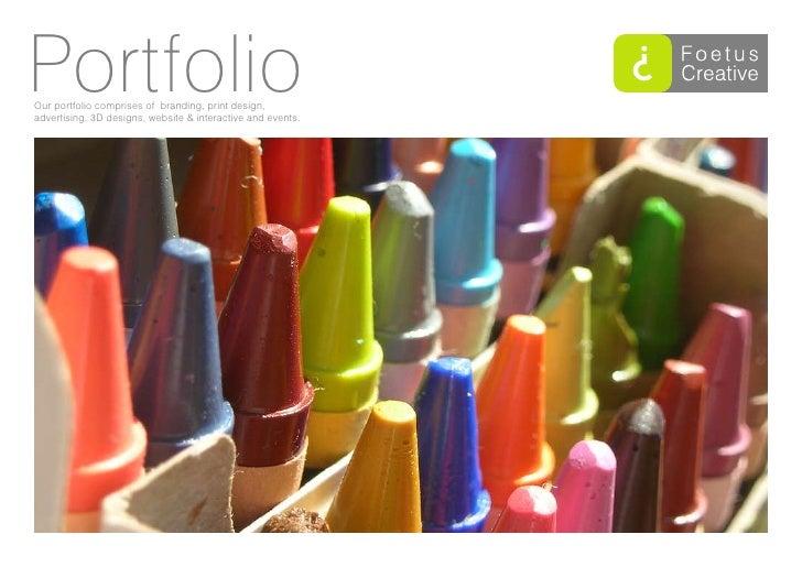 Foetus creative portfolio