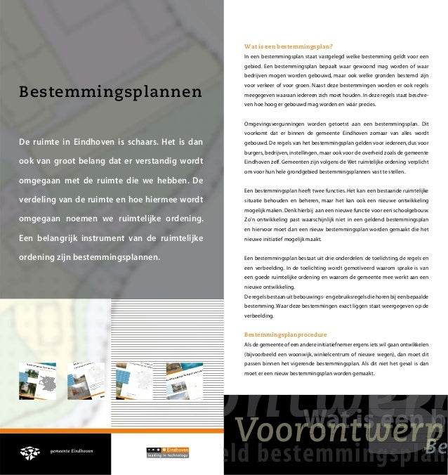 Bestemmingsplan Eindhoven