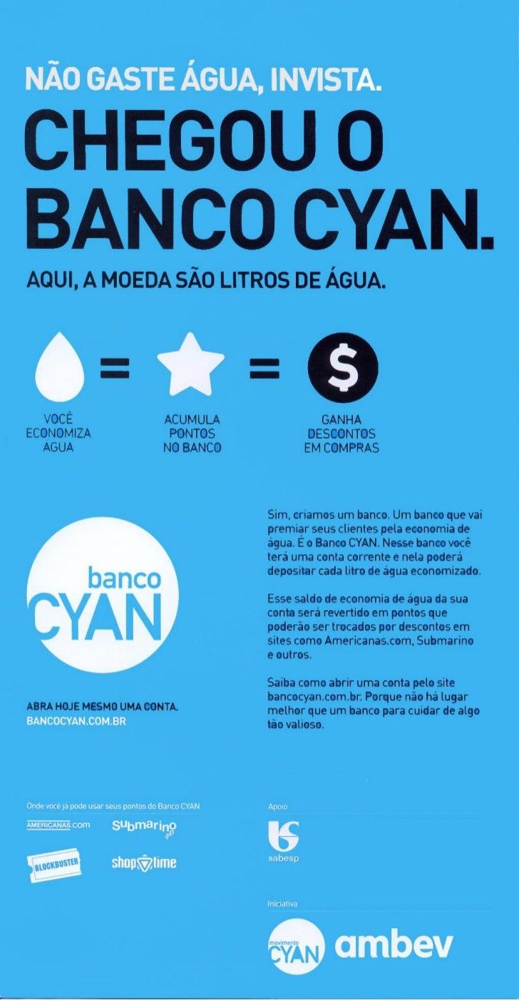 Folder Banco CYAN