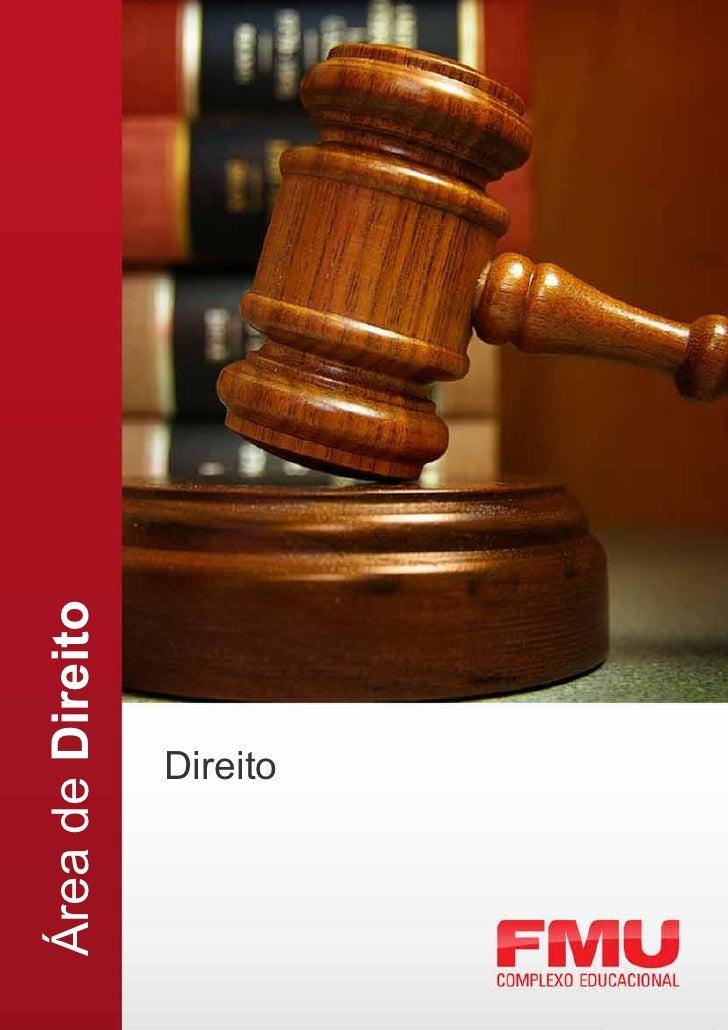 Área de Direito      Direito