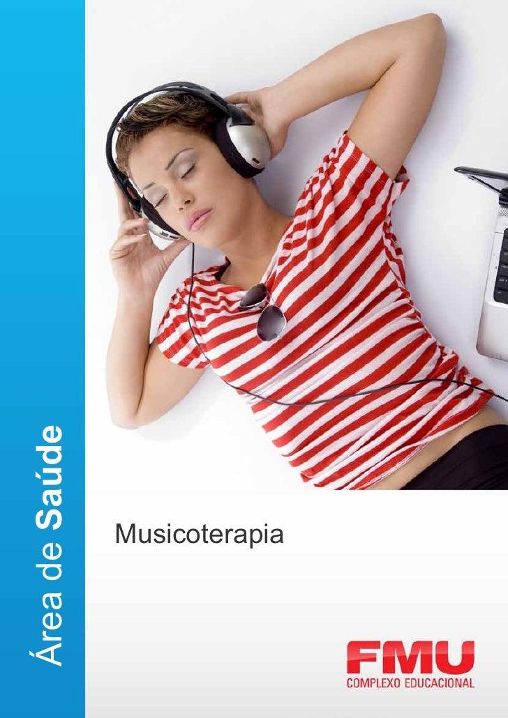 Área de Saúde                Musicoterapia