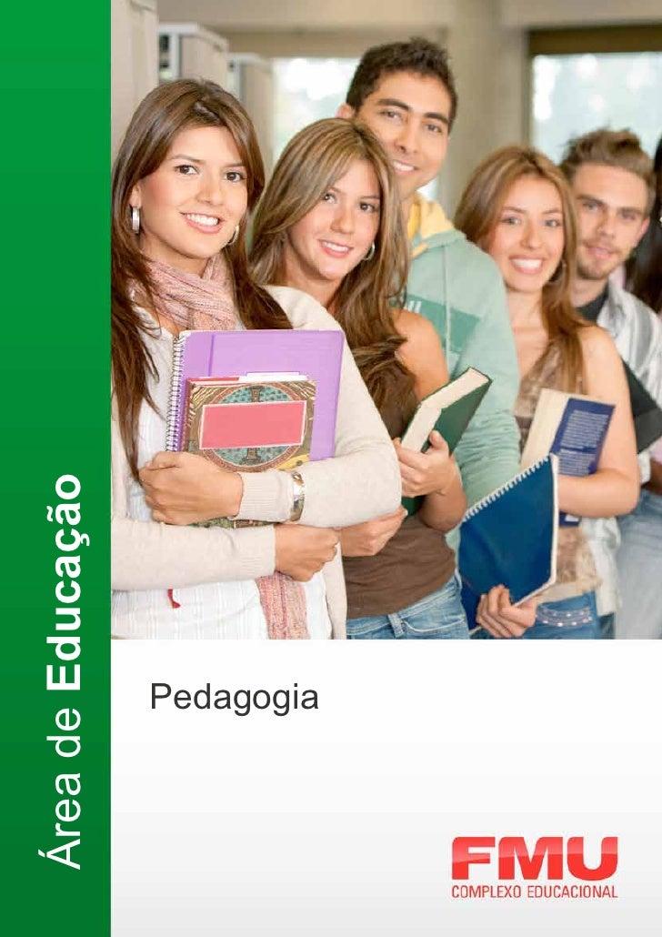 Área de Educação      Pedagogia