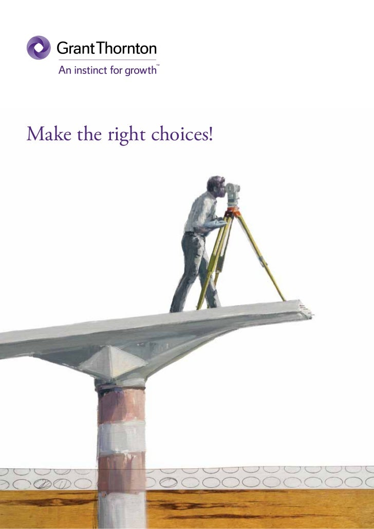 Make the right choices!