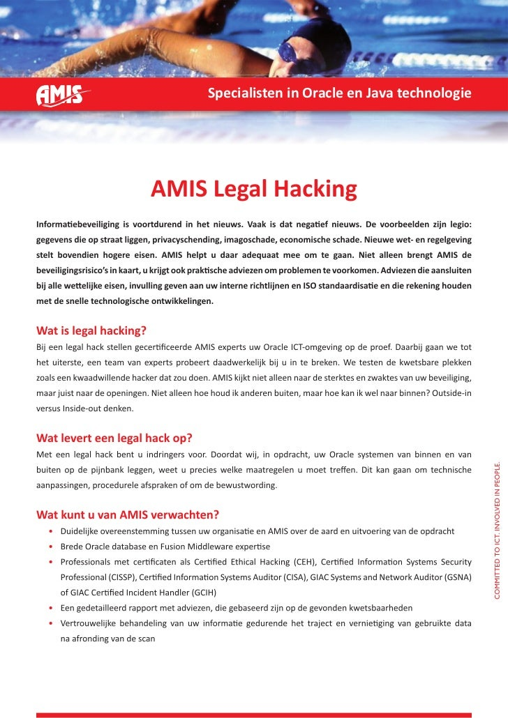 Folder Legal Hack - AMIS