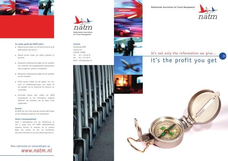 Netherlands Association for Travel Management                                                                      Netherl...