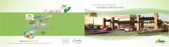 Folder Residencial Damha Belvedere