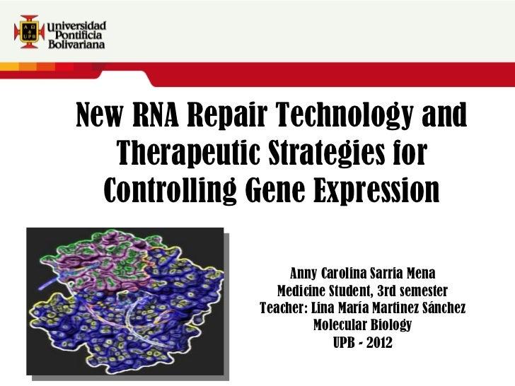 Texto adicional Texto adicional Texto adicional texto adicional Texto adicional texto adicional New RNA Repair Technology ...