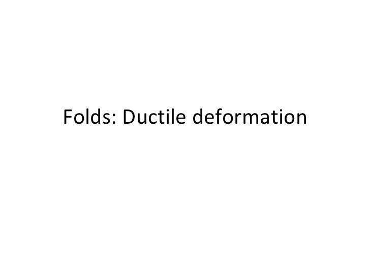 Fold types