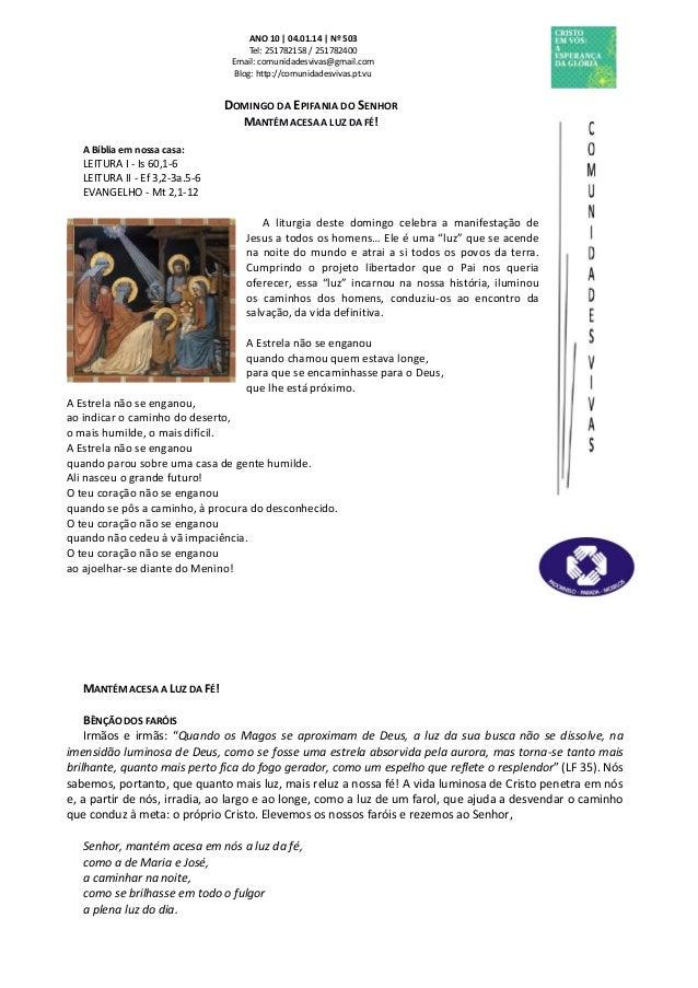 Folha Dominical - 05.01.14 Nº 503