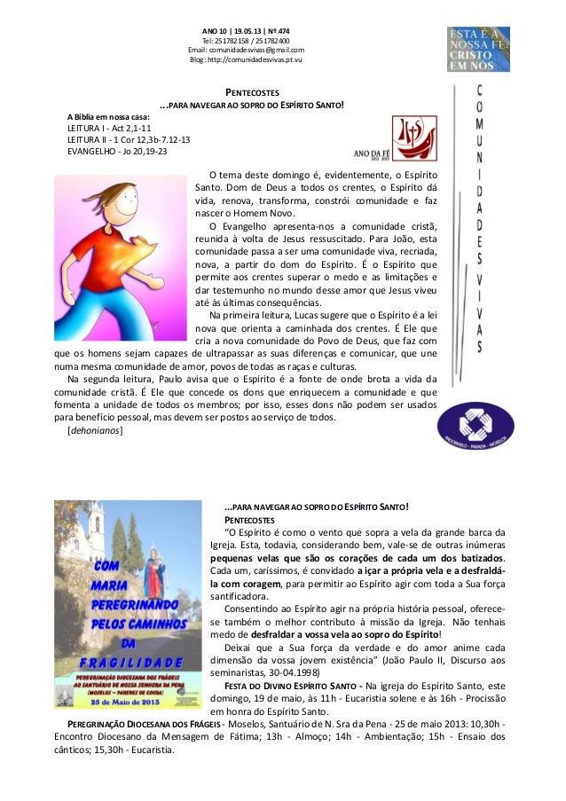 Folha Dominical - 19.05.13 Nº 474