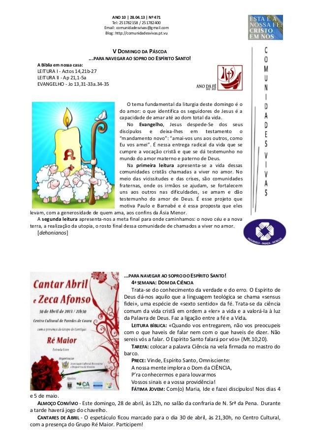 Folha Dominical - 28.04.13 Nº 471