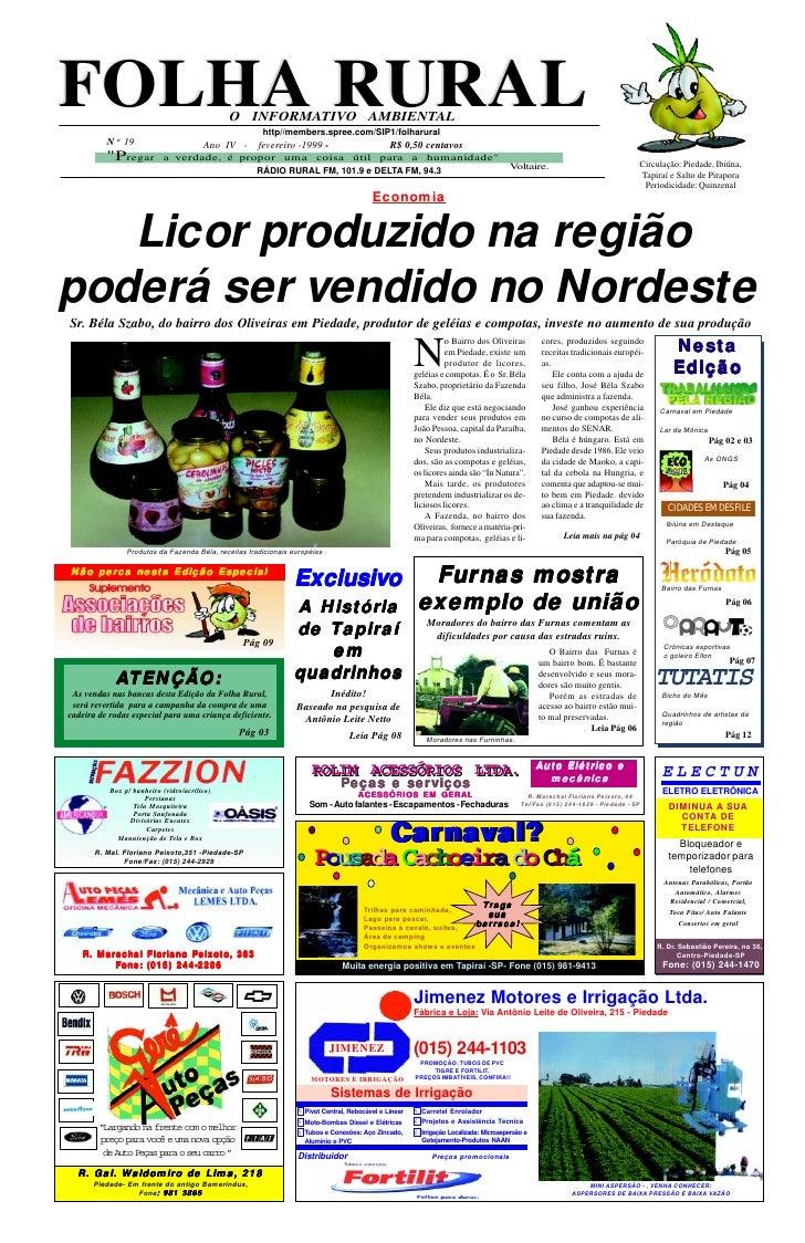 Folha Rural edição 19