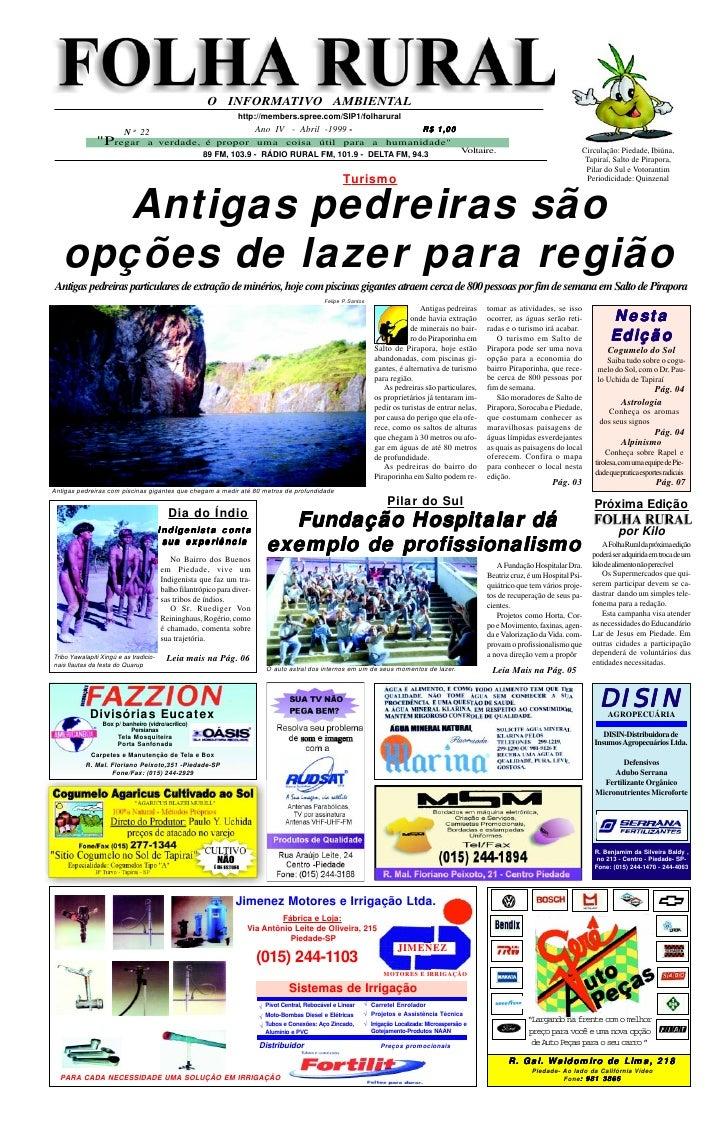Folha Rural edição 22