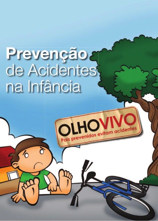 Folheto: prevenção de acidentes na infância