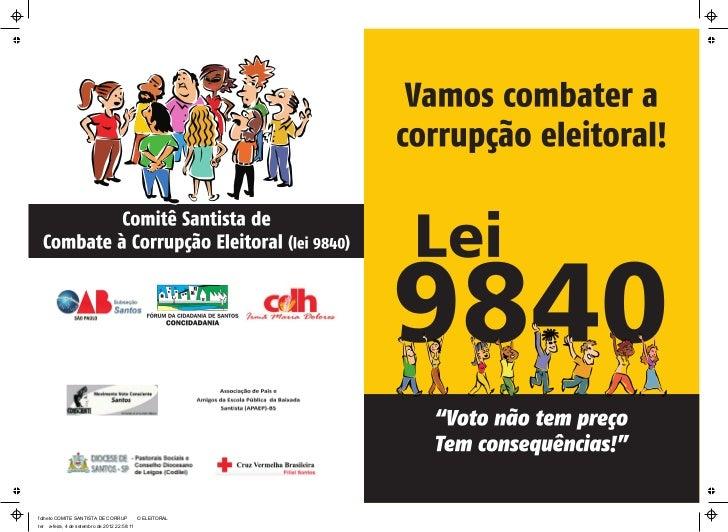 folheto COMITE SANTISTA DE CORRUPÿÿÿÿO ELEITORALterÿÿa-feira, 4 de setembro de 2012 22:58:11