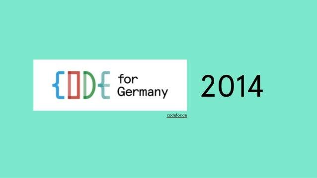 2014  codefor.de