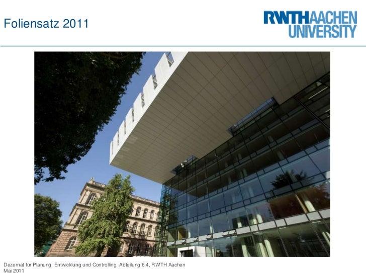 Foliensatz 2011 RWTH Aachen (deutsch)