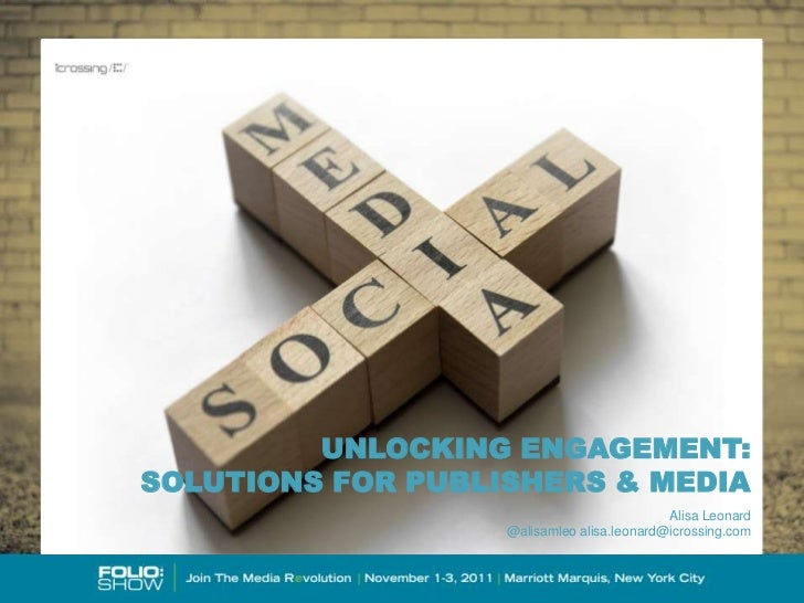 Publishers & Social Media: Solutions for Success