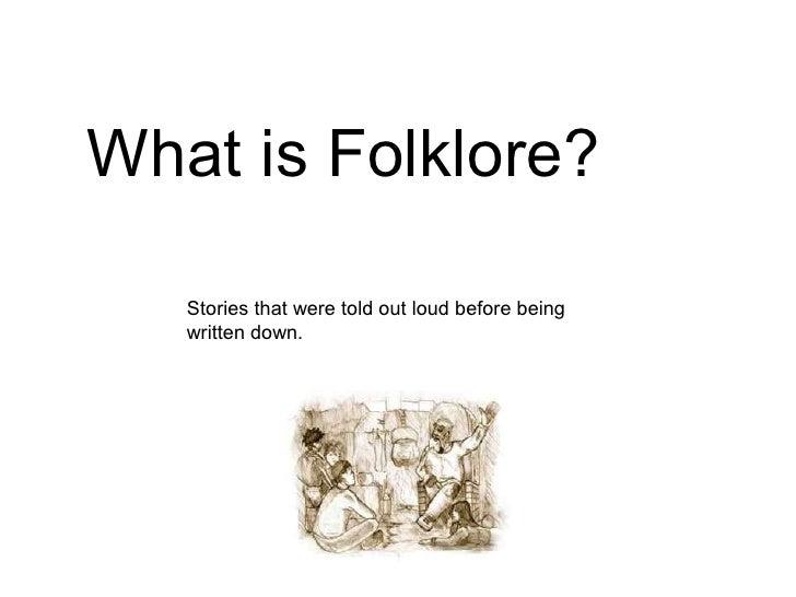 Folklore 4th Grade