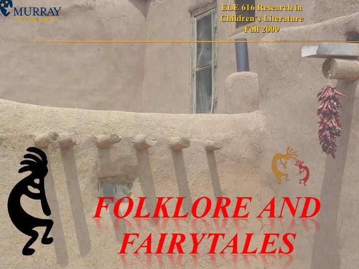 Folklore & Fairytales--2003