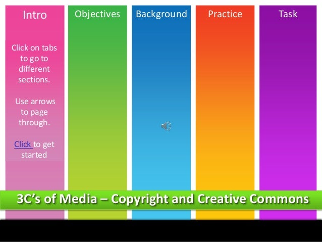 Intro  Objectives  Background  Practice  Task  Click on tabs to go to different sections. Use arrows to page through. Clic...