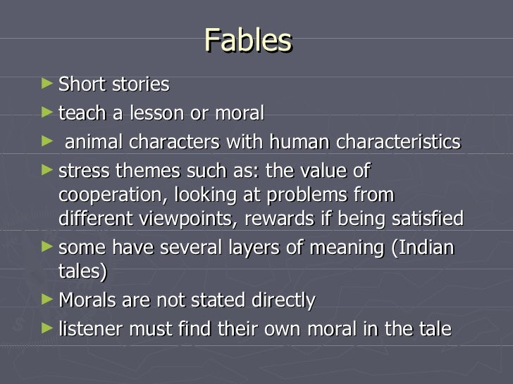 fables and their meaning Parables : we are thankful to  not just for any particular sect or the followers of particular faith, it is for the entire humanity, irrespective of their belief.