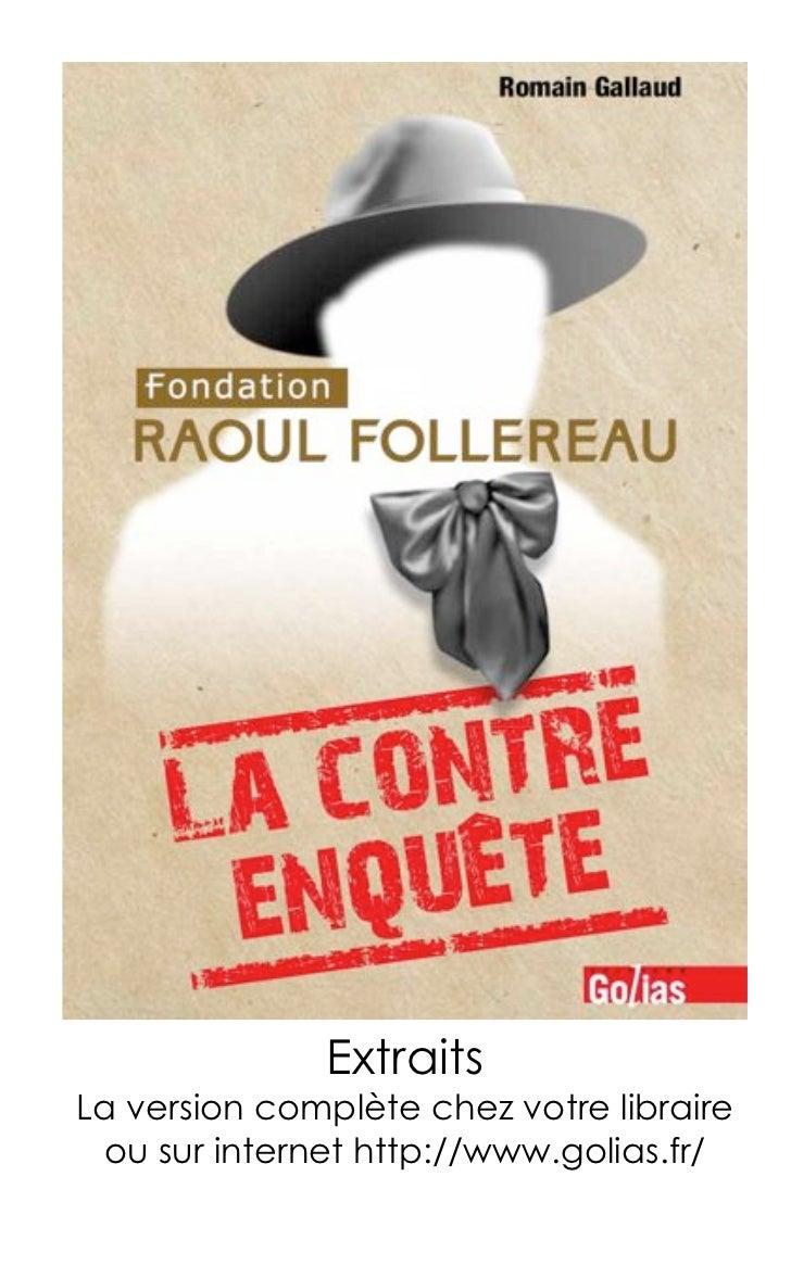 ExtraitsLa version complète chez votre libraire ou sur internet http://www.golias.fr/