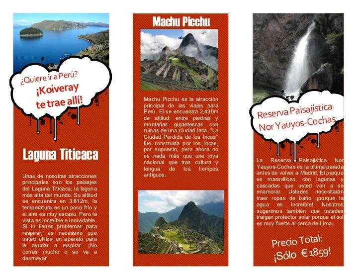 Machu Picchu                                              ? ...
