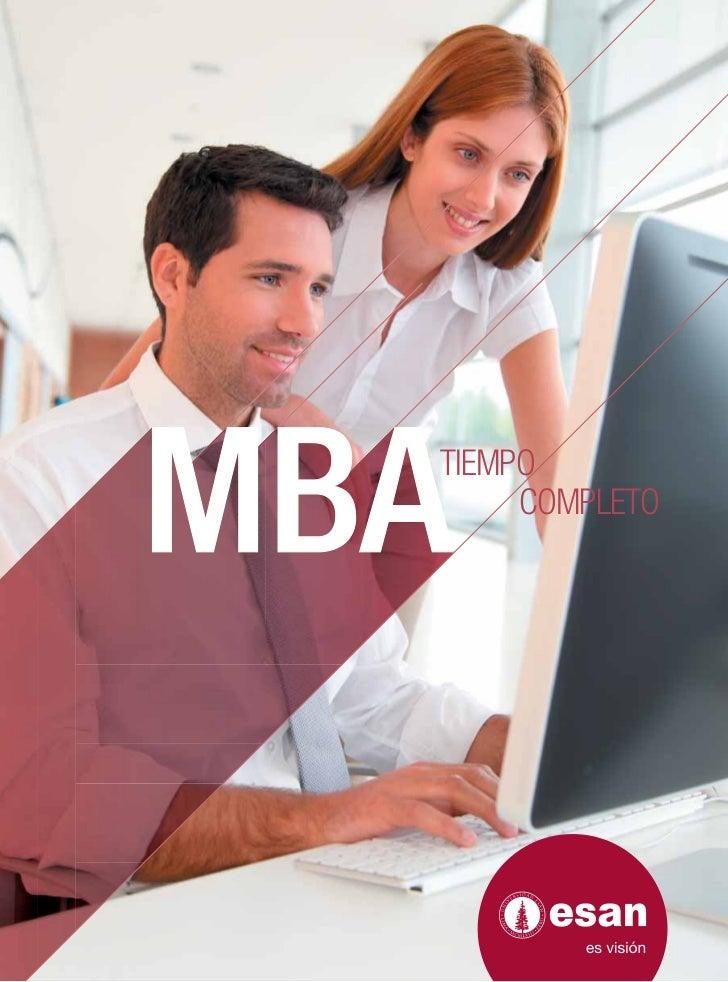 Folleto MBA-TC 2012-I