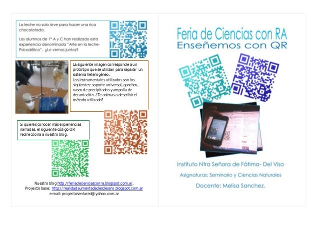 Folleto 1- QR en Ciencias Naturales