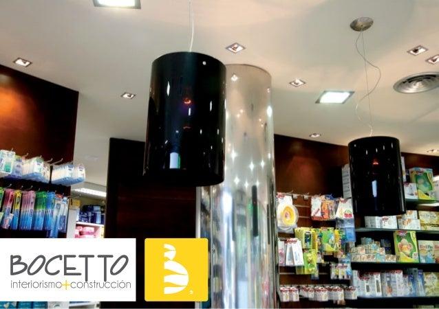 Fachadas Reflejar en una fachada todos los elementos que dan carácter a su farmacia empleando materiales actuales e integr...